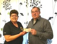 Our fourth cash lottery winner Bill Timmins