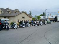 One of our first assignments - The Poker Run at Queensbush Pub