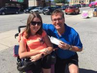 Natalie and MPP Bill Walker